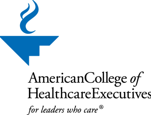 American College of Healthcare Executives (ACHE) welcomes Nichols