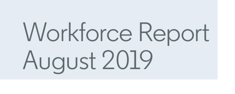 Workforce Report Header
