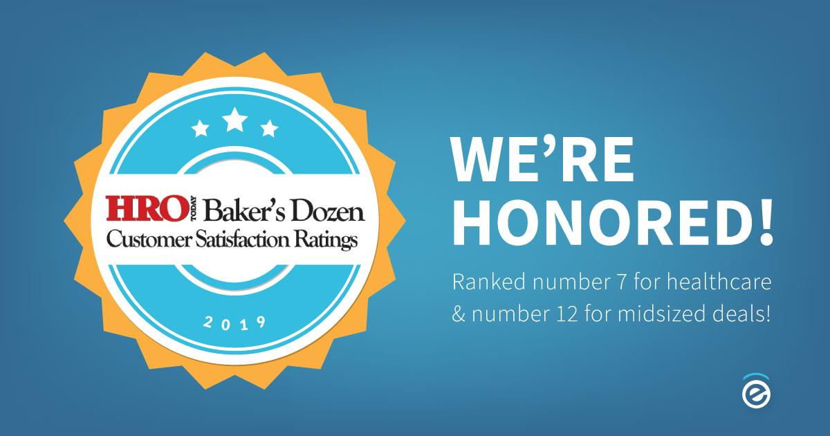 endevis Baker's Dozen award 2019